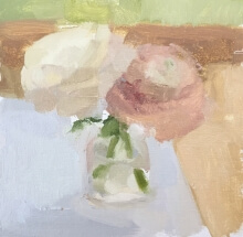 a pair of flowers in a vase
