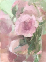 """Juliet roses I 6x8"""" (available)"""